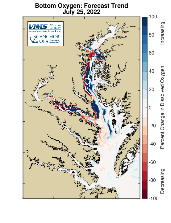 Hypoxia in Chesapeake Bay